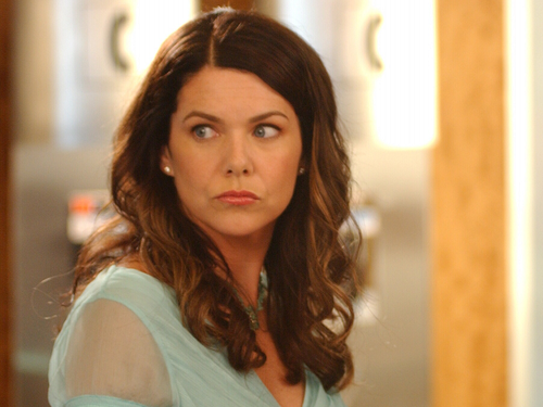 Una mamma per amica wallpaper containing a portrait called Lorelai Gilmore