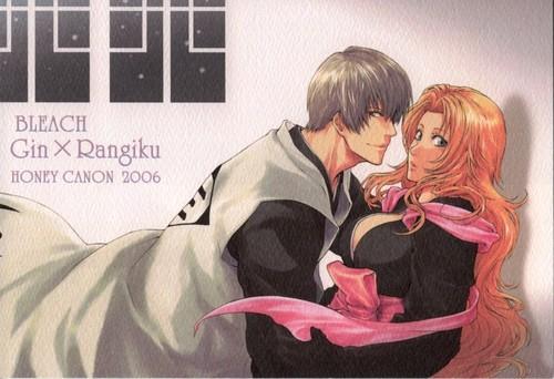 gin Ichimaru and Rangiku Matsumoto wallpaper with anime called gin and Rangiku