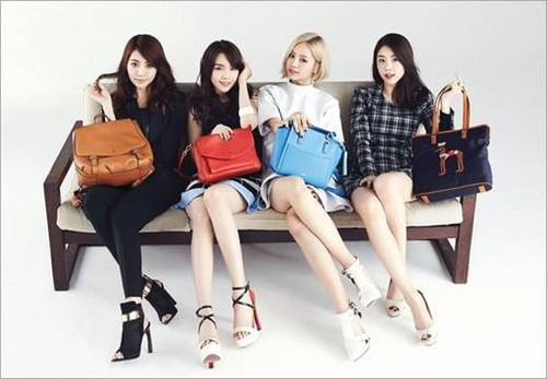 Girl's Day wallpaper probably with bare legs, a couch, and a well dressed person called Girl's Day  LG Fashion's HAZZYS