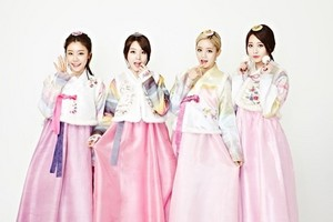 Girl's Day in lovely hanbok