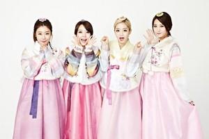 Girl's 일 in lovely hanbok