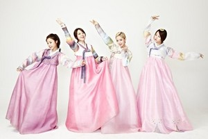 Girl's siku in lovely hanbok