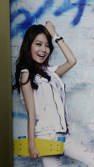 SNSD Sooyoung 20th Casio Baby
