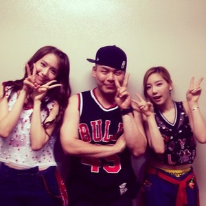 Taeyeon, Yoona and Youngnolb