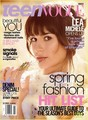 Lea Michele Covers 'Teen Vogue' Magazine March 2014 - glee photo