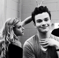 Britanny and Kurt - glee photo