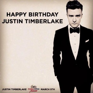 Happy B-Day JT!