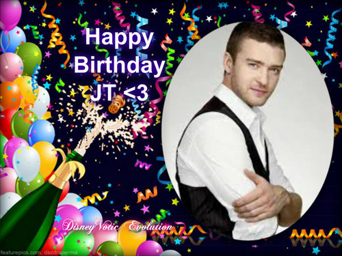 Justin Timberlake wallpaper titled Happy Birthday JT