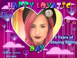Happy Lovatic ngày