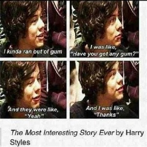 The Most interesting story ever told سے طرف کی Harry Styles