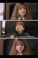 Ron and Hermione - harry-potter-and-percy-jackson-rp photo