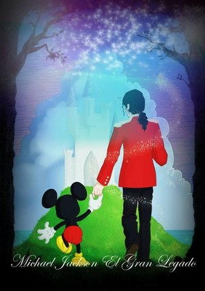 Michael Jackson And Mickey ماؤس