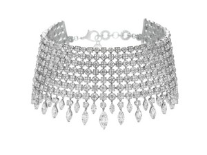 A Diamond Choker 项链