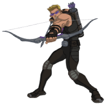 Hawkeye wallpaper titled Avegers Assemble Hawkeye