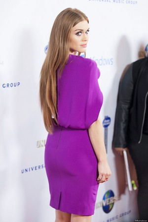 Holland attending Universal সঙ্গীত Group 2014 Post-Grammy Party
