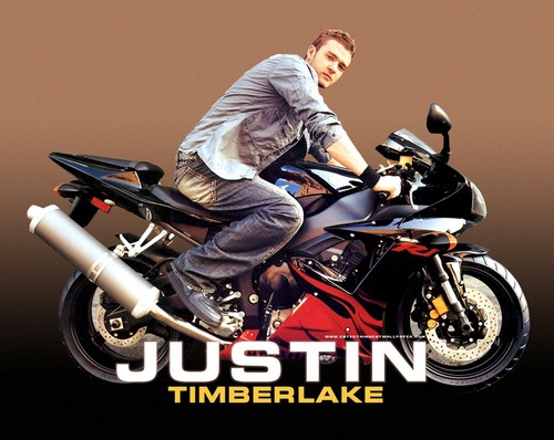 acteurs les plus canons fond d'écran with a faire de la moto, motocyclisme and a motorcycle cop called Justin Timberlake