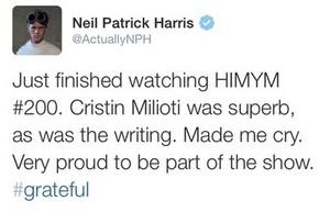 Neil's Tweet