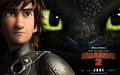 Hiccup and Toothless HTTYD 2 Wallpaper - how-to-train-your-dragon wallpaper