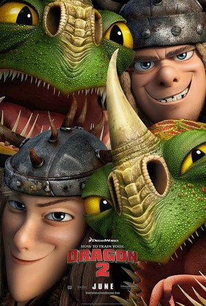 New HTTYD 2 Poster Featuring Ruff & Tuff (HD)