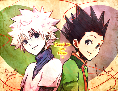 hunter x hunter wallpaper containing animê entitled Killua and Gon