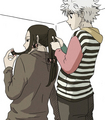 Illumi and Killua - hunter-x-hunter photo