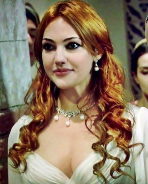Hurrem from the first episodes