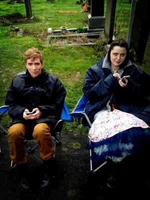 On the Set of In The Flesh Series 2