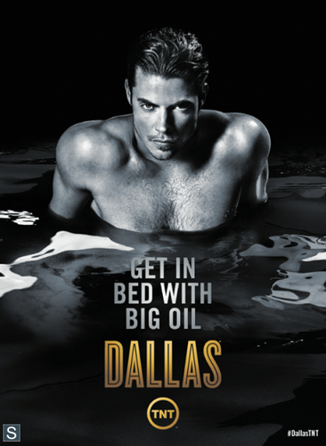 Ingrid's Graceland wallpaper probably containing a hunk, skin, and animê titled Dallas Season 3 New Promo Posters