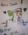 Music Sounds better with you - invader-zim-fancharacters photo