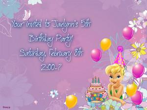 Invite purple