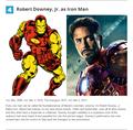 The 10 Best Marvel Movie Casting Decisions (So Far) - iron-man photo