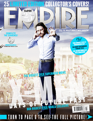 James McAvoy - Empire Magazine Cover
