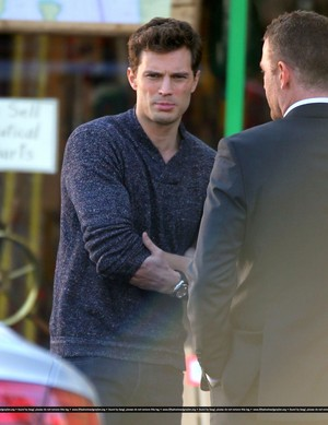 Fifty Shades of Grey - On Set - 22nd January