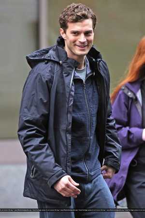 Fifty Shades of Grey - On Set - January 29th