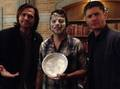 J2 and Misha - jared-padalecki photo