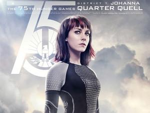 Johanna Quarter Quell Poster
