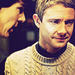 John and Sherlock [1x01] - johnlock icon