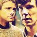 John and Sherlock [1x01] - johnlock icon