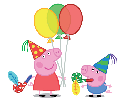 Garde le sourire images peppa pig birthday fond d cran - Peppa pig telecharger ...