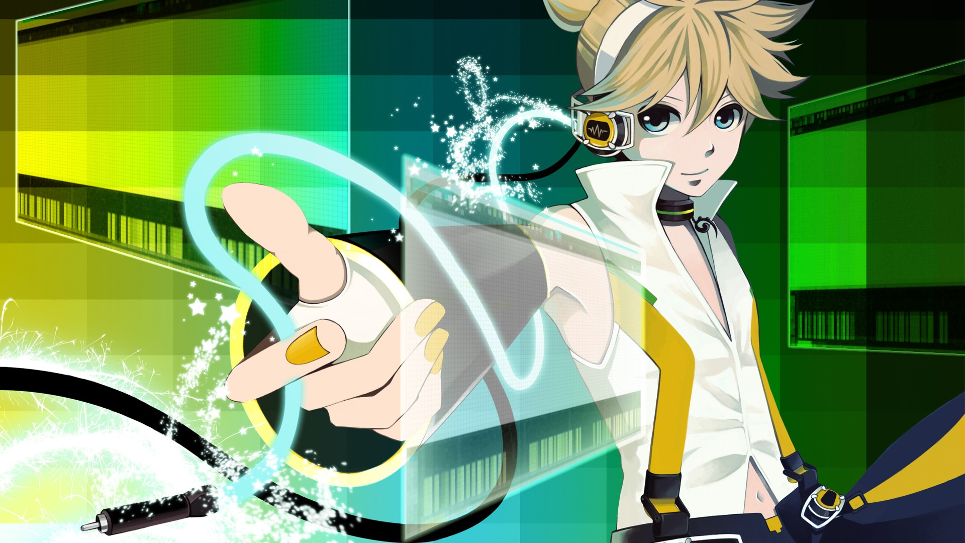 Vocaloid Kagamine Len Wallpaper HD 4K for PC