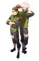 Kakashi Hatake and Iruka