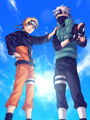Kakashi Hatake and Naruto Uzumaki - kakashi fan art