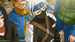 はたけカカシ Hatake, Rin and Obito