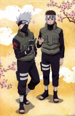 Какаси Hatake and Yamato