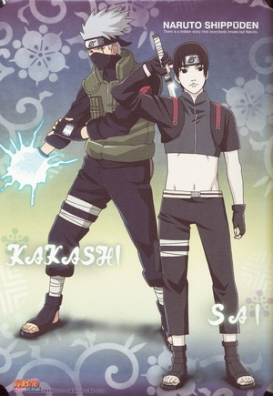 Kakashi Hatake and Saï