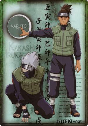 Kakashi Hatake Hatake and Iruka