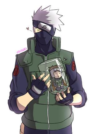 카카시 선생님 Hatake and Yamato