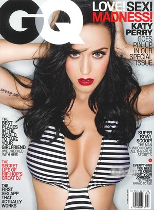 Katy in GQ February 2014