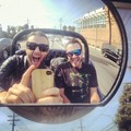 Me and a budd Mike from home cruising LA in the buggy - keith-harkin photo