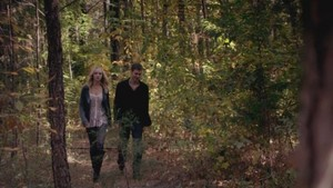 "Klaus and Caroline in ""Fifty Shade of Solitude"""